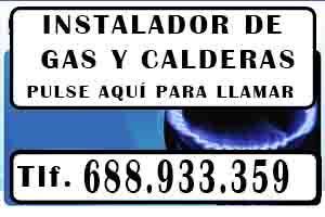 Instalador de Gas Madrid autorizado Urgentes